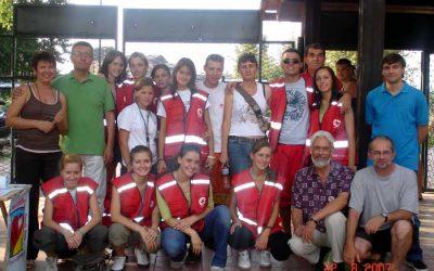 Štrand, 22.avgust 2007. Promocija dobrovoljnog davalaštva krvi