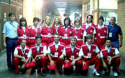 16.-20.09.2005: Sanitetsko obezbeđenje Evropskog prvenstva u košarci