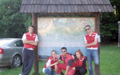 Sanitetsko obezbeđenje 34.Planinarskog maratona na Fruškoj gori 7-8. maj 2012.god.