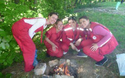 Sanitetsko obezbeđenje 34. planinarskog maratona na Fruškoj Gori 7. – 8.maj 2011.