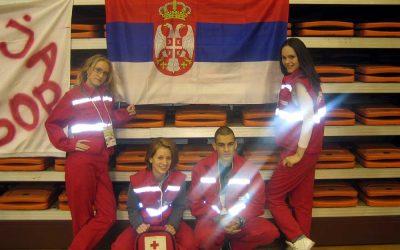 Sanitetsko obezbeđenje  Evropskog prvenstva u karateu za kadete i juniore 11.-13. februar 2011.