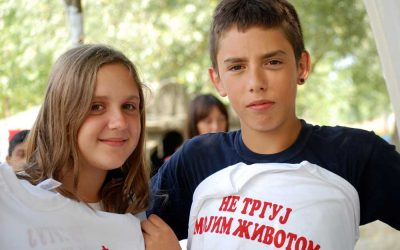 """Kamp """" Mala srećna kolonija"""" – Petrovaradinska ada, Novi Sad 16. i 23. jul 2011.g."""