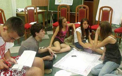 Letnja škola mladih društva Crvenog križa Osjecko-baranjske županije 17.-27.avgust 2011, Orahovica