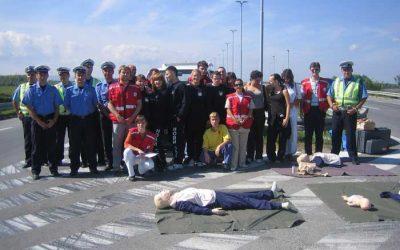 9.septembar 2006.g. – Svetski Dan Prve pomoći: Združena pokazna vežba