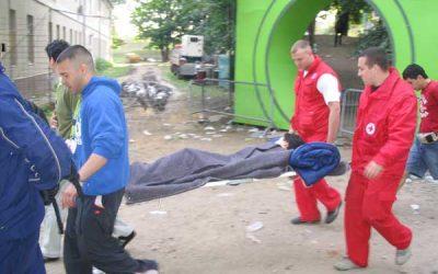 07.-10.07.2005: Sanitetsko obezbeđenje festivala EXIT05