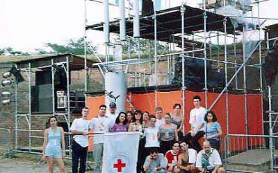 EXIT01 – Omladinska terenska ekipa Crvenog krsta Novog Sada brine za povredjene