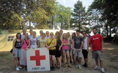 EXIT 13 – Sanitetsko obezbeđenje Petrovaradinska tvrđava, 12-15.jul 2012.