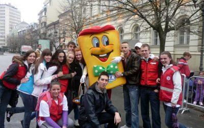 Sanitetsko obezbeđenje Novosadskog NIS polumaratona 27.mart 2011.