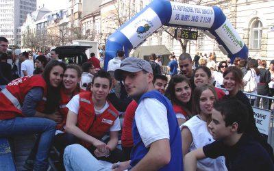 Sanitetsko obezbeđenje 19.novosadskog internacionalnog polumaratona 25. mart 2012. god.