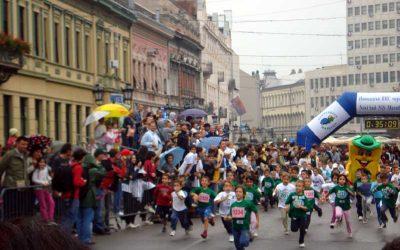 Trka za srećnije detinjstvo Novi Sad 11 oktobar 2009.