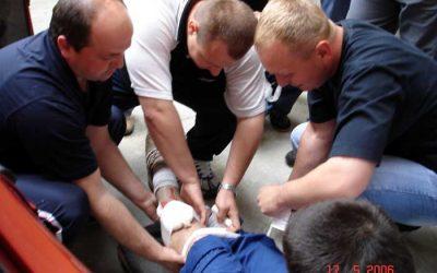 Obuka pripadnika policije u pružanju prve pomoći