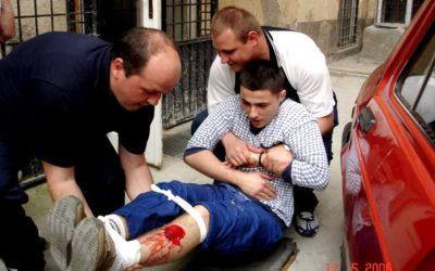 16.- 23.maj 2006.g. – Klub mladih Crvenog krsta Novog Sada Obuka iz prve pomoći za pripadnike patrola saobraćajne policije