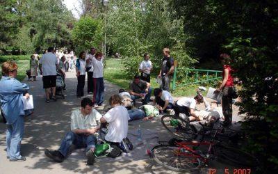 Dunavski park, 12.maj 2007: Gradsko takmičenje u PP i RPPO