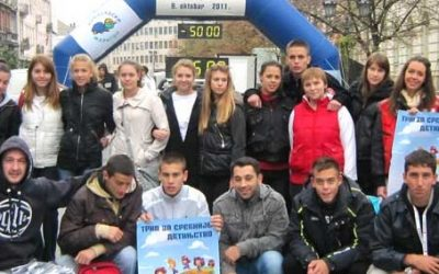 Trka za srećnije detinjstvo 9.oktobar 2011.