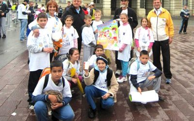 Trka za srećnije detinjstvo i Novosadski maraton 14.oktobar 2012.