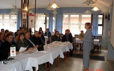 9.-11. Novembar 2007, Banja Vrujci Savetovanje sa saradnicima – volonterima DDK