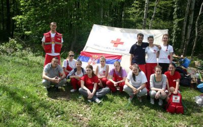 Sanitetsko obezbeđenje 36. Planinarskog maratona 27. i 28. april 2013.